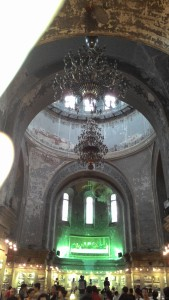 Inside St. Sophia Cathedral