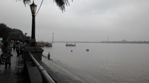 Along the banks of Songhua River