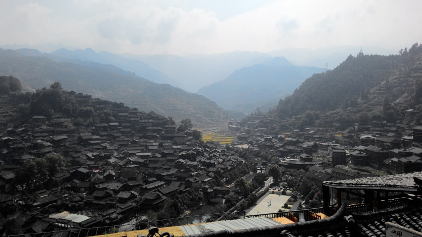 an oveerview of the Miao Vaillage
