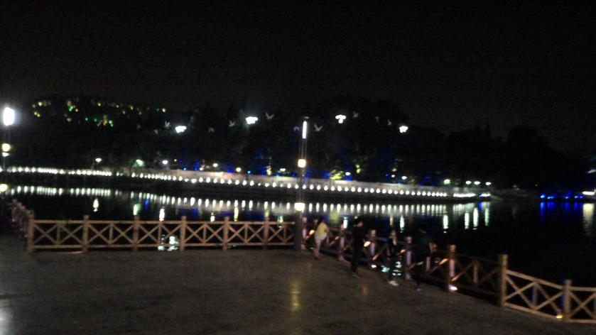 night view of Anshun
