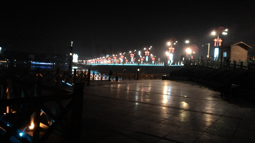 Anshun bridge at night