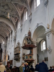 Interior of St. Emmeram's Abbey