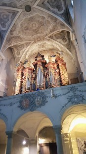 Interior of St. Emmeram's Abbey