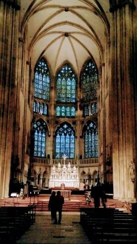 Interior of Regensburg Cathedral
