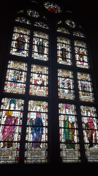 wonderful stain-glass window