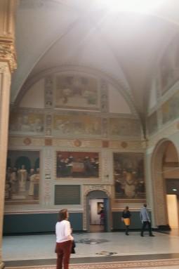 revealed during recent renovation