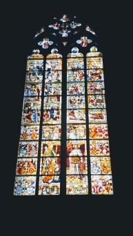 Petrus- und Wurzel Jesse-Fenster, 1509