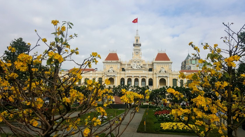 Ho Chi Ming City Hall