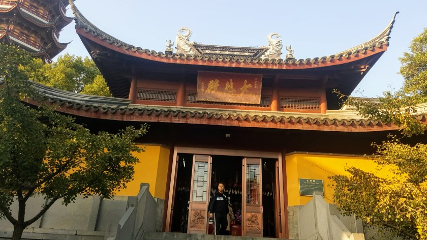 The temple for Kwan Yin Bodhisattva of Compassion _